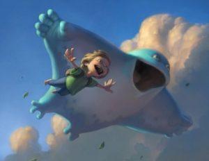 Летаю в облаках