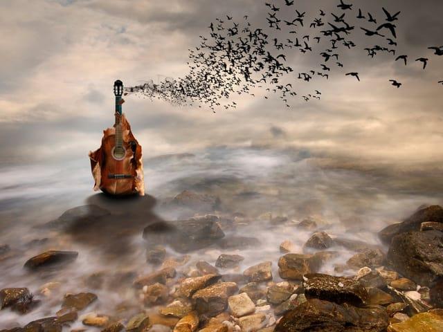 Гитара у моря