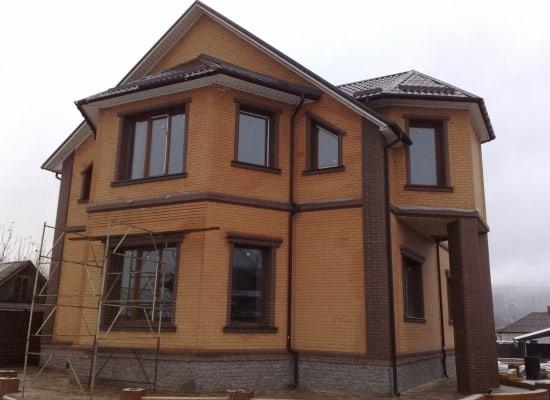 2 этажный дом