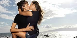 Поцелуй у моря
