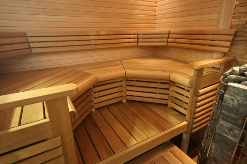 Место для отдыха в бане