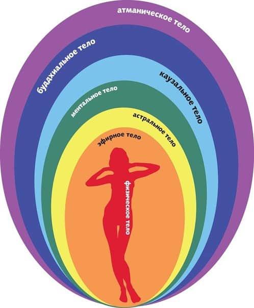 тонкие тела человека и их функции