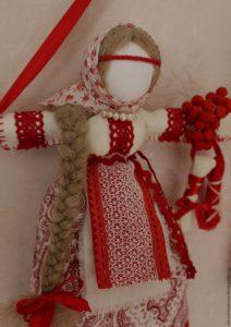 Как изготовить куклу-оберег в русском стиле своими руками