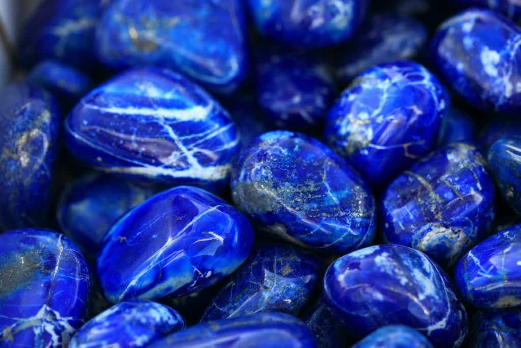 камень азурит фото