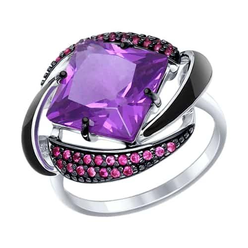 кольцо с наноситаллом