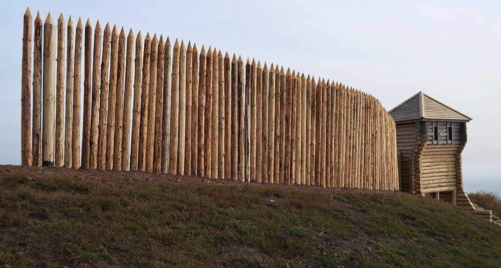 Короткий забор