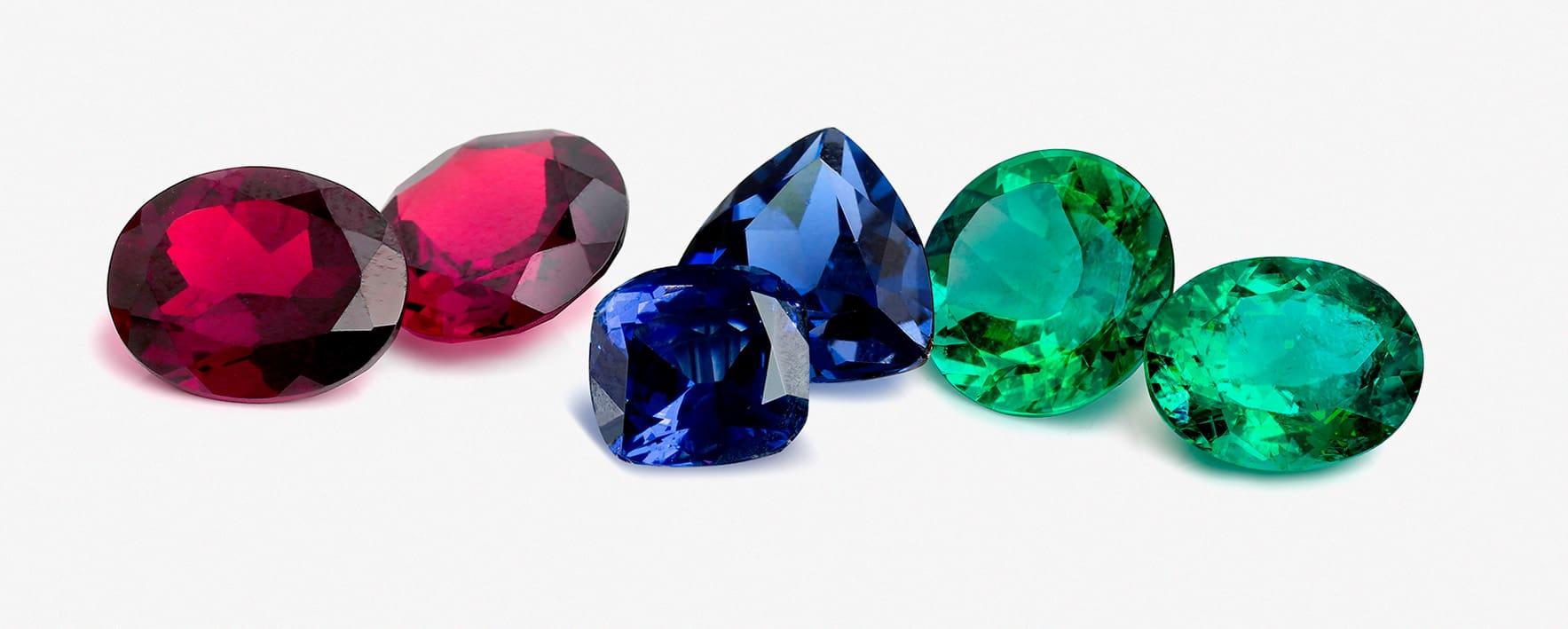 Разноцветный камни