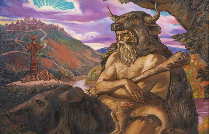 Амулет Велеса оберег волхвов ведунов и земледельцев