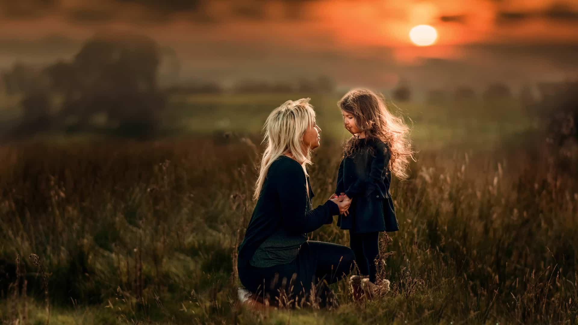 Мать и дочка