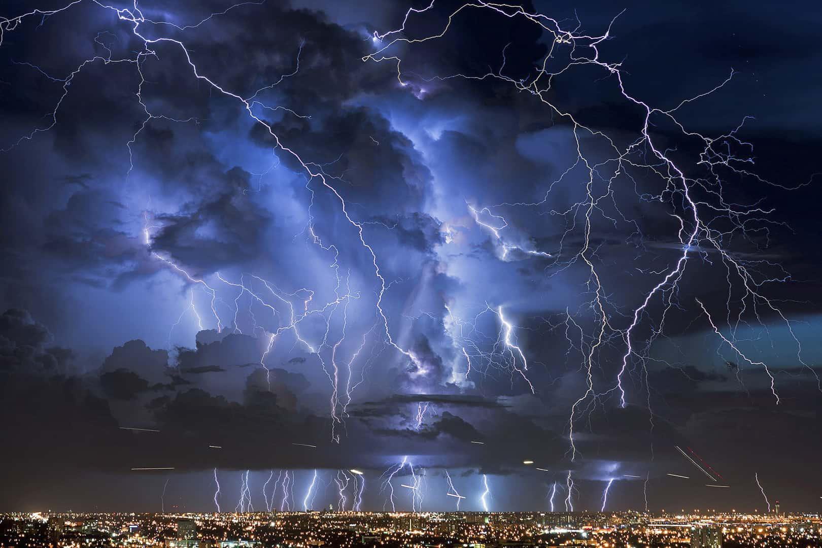 Гроза и молния
