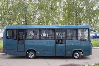 Тусклый автобус
