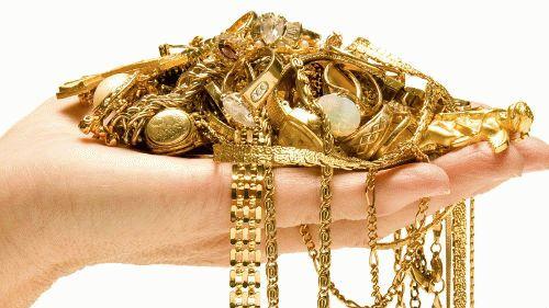 Золото на руке