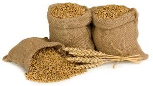 Мешки зерна