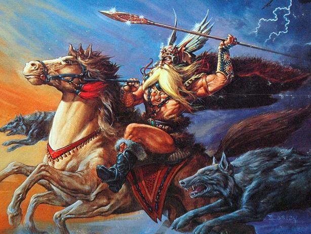 руны скандинавских богов