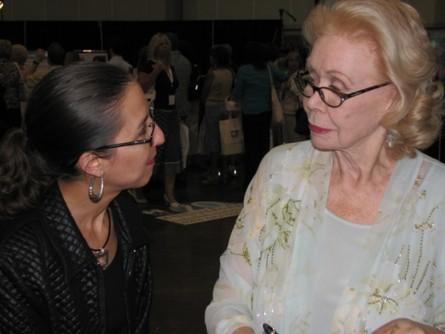 Луиза Хей - частый гость разных семинаров
