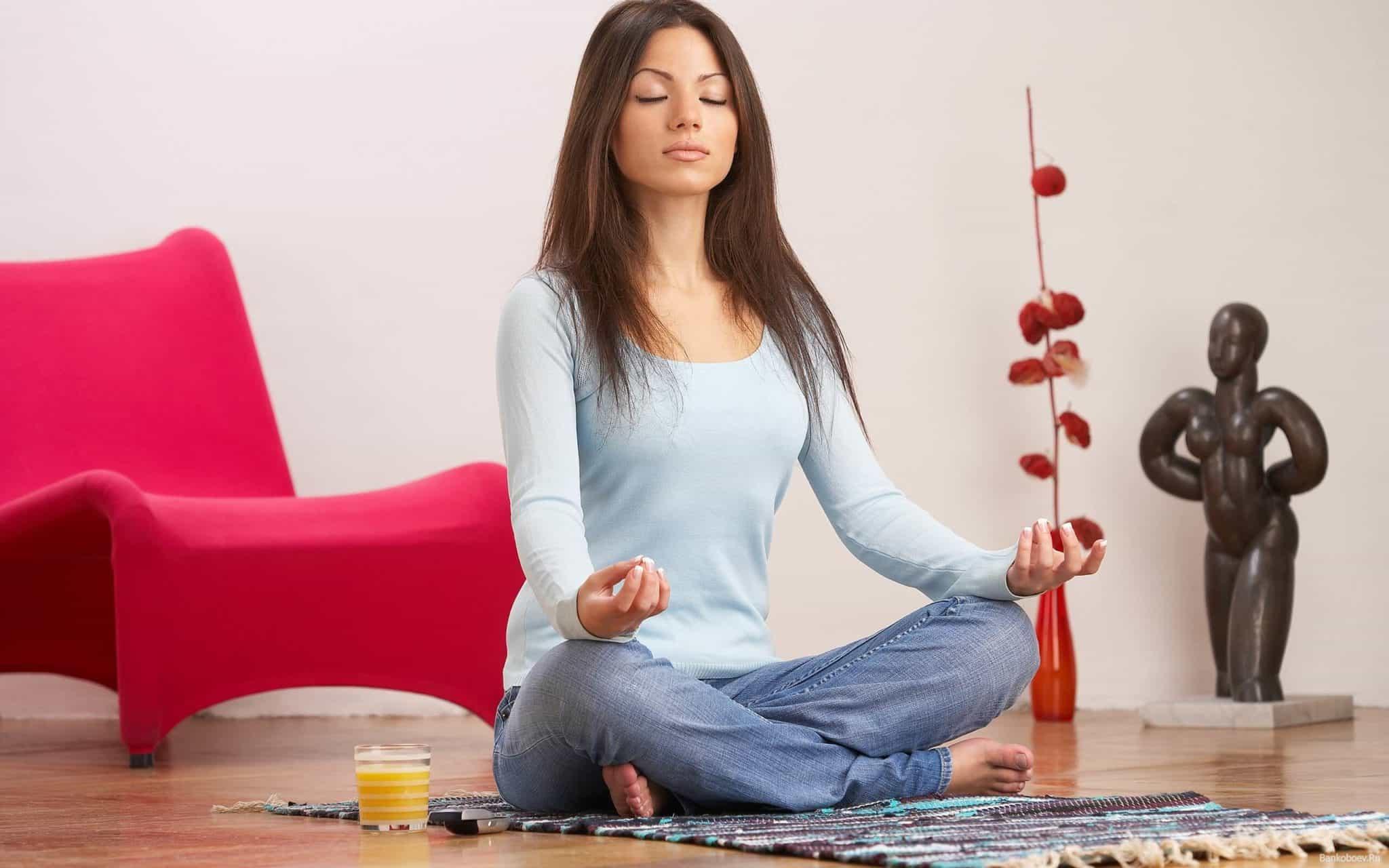 медитация для успокоения нервов
