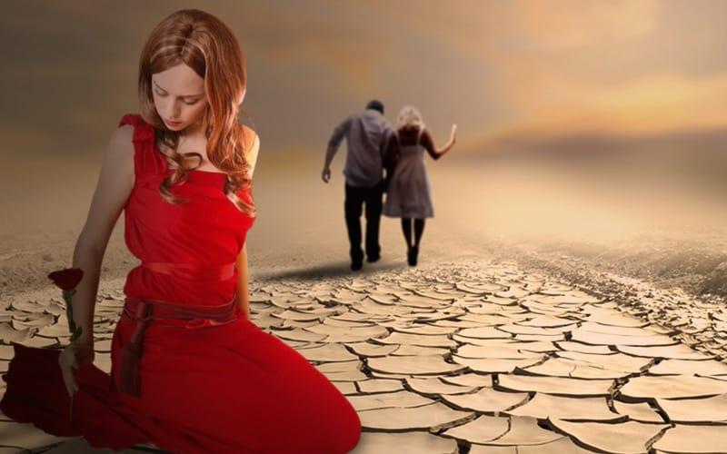 одиночество доставляет огромные страдания