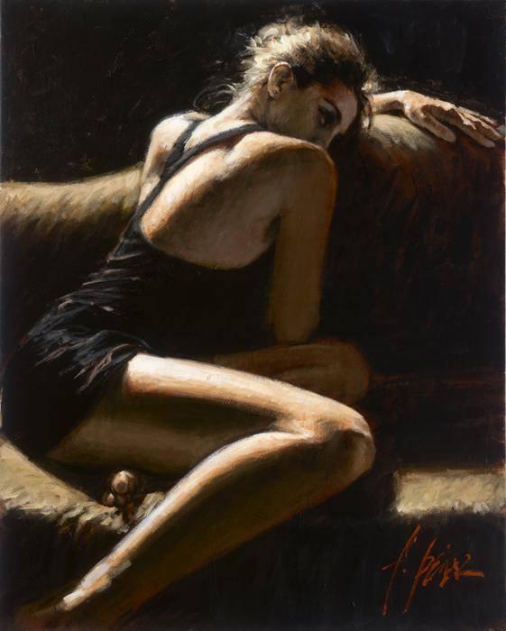 женское одиночество картина