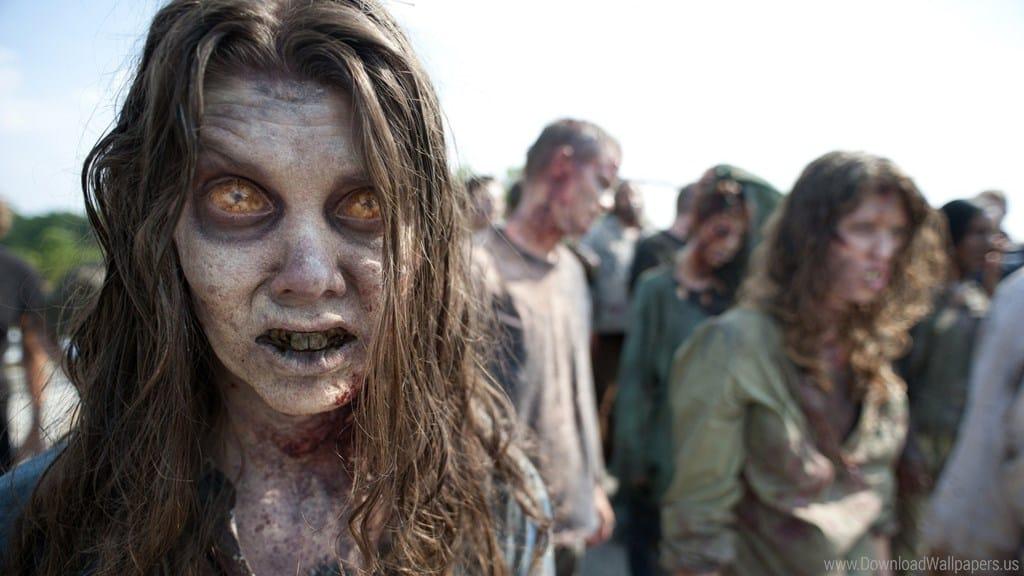Бродящие зомби