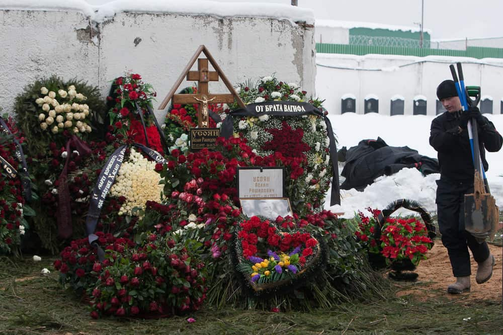 Похоронные венки