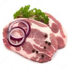 Сырое мясо с луком