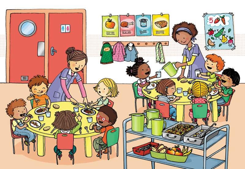 В детском саде