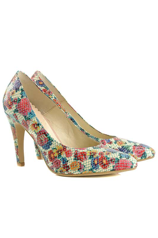 Цветные женские туфли