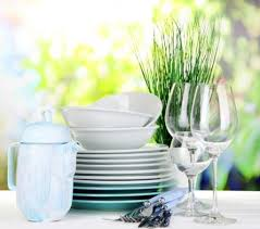 Посуда на столе