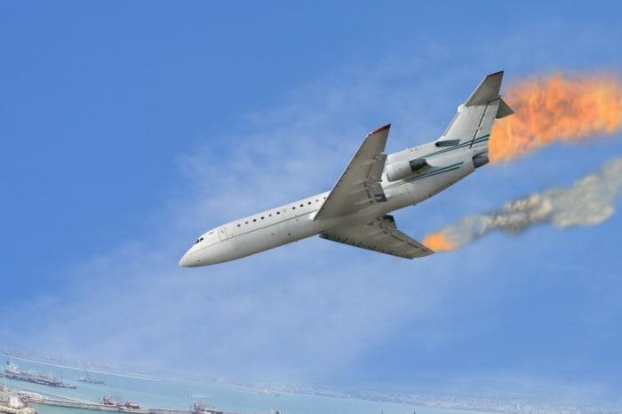 Авария на самолете