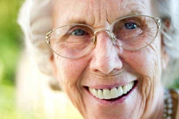 Улыбка бабушки