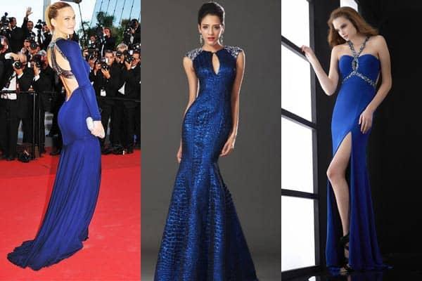 Сонник красивое голубое платье