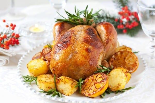Готовая курица