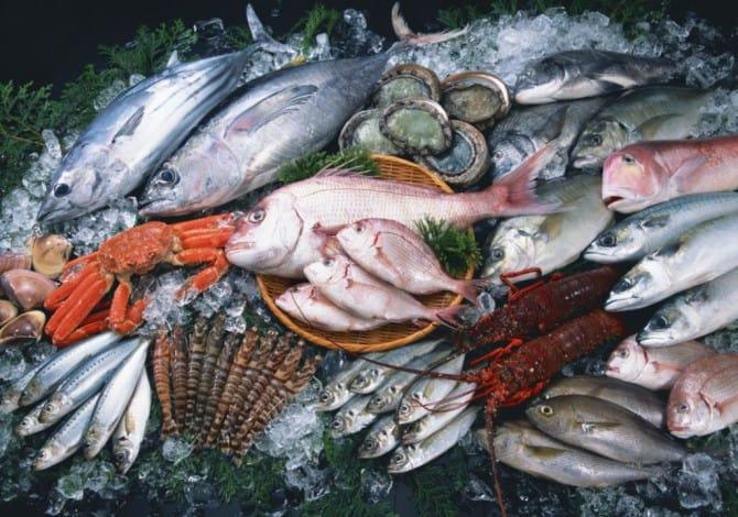 Разная рыба
