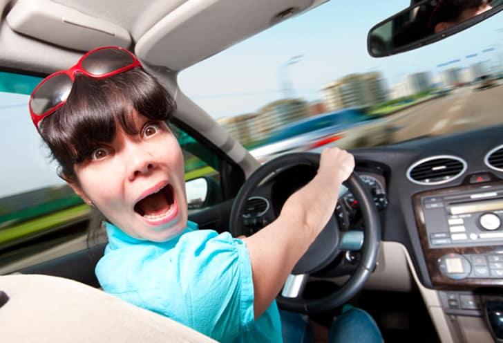 Паника за рулем
