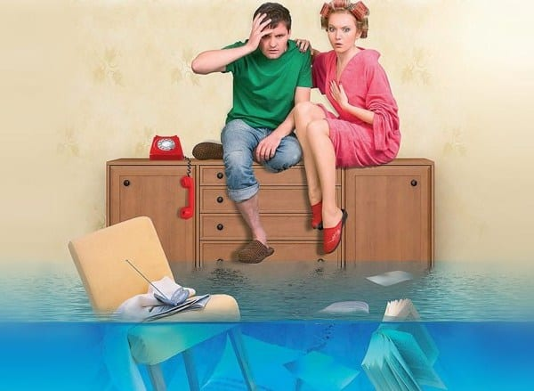Потоп дома