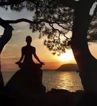 вечерняя медитация
