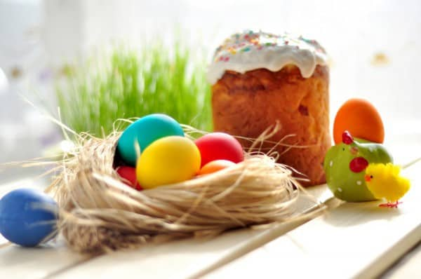 паска и яйца фото