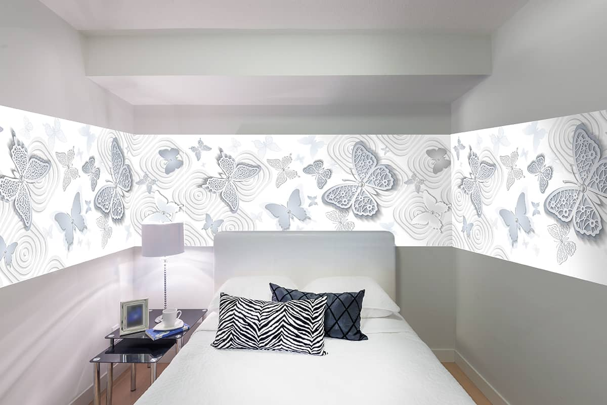 бабочки в спальне привлекут любовь и семейное счастье