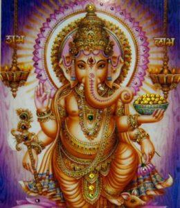 бог Ганеши
