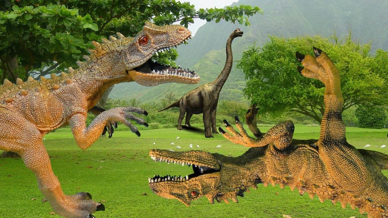 Страшные динозавры