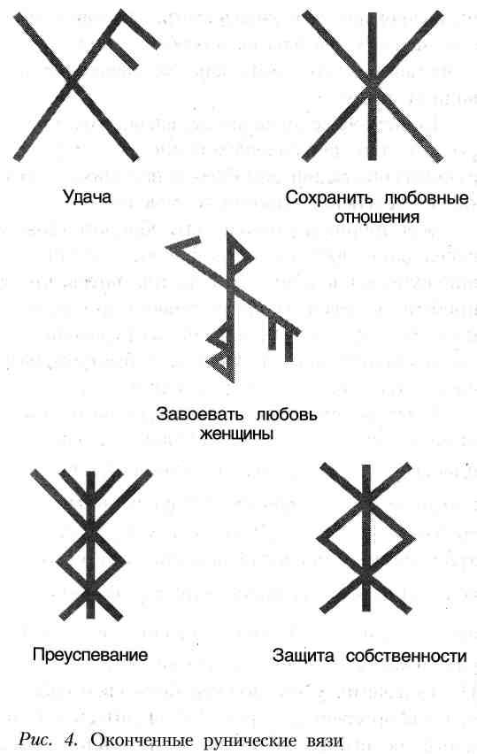 руническое письмо - вязанные руны