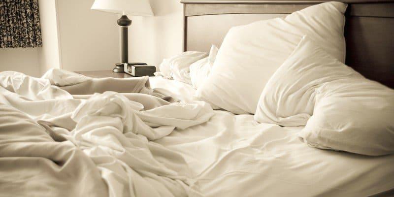 Мятая постель