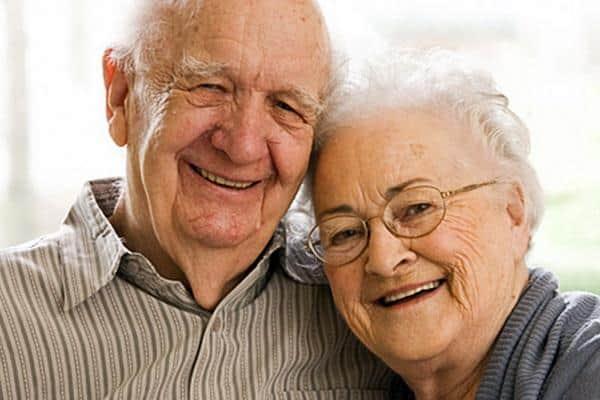 Старенькие родители