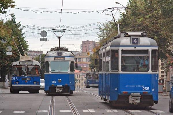 Синие трамваи