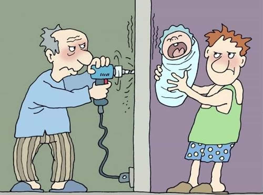 Надоедливые соседи