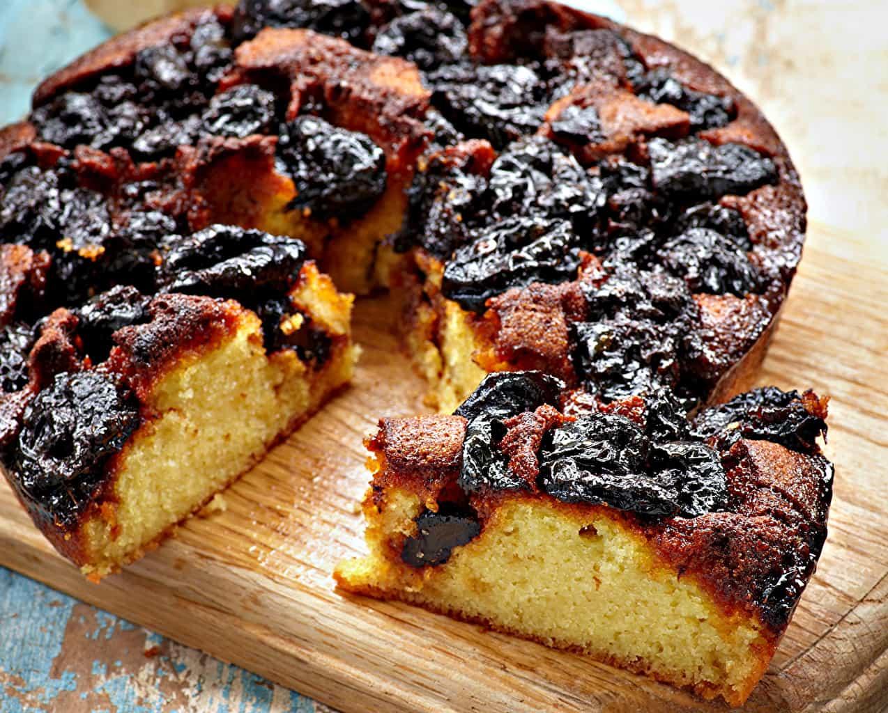 Свежий пирог