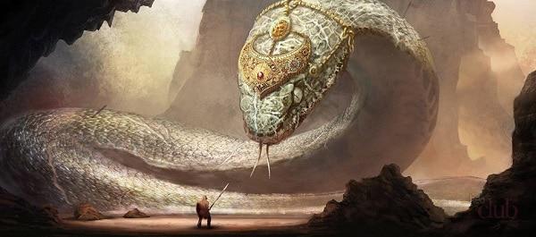 Бой с змеем