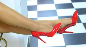 Туфли на ногах
