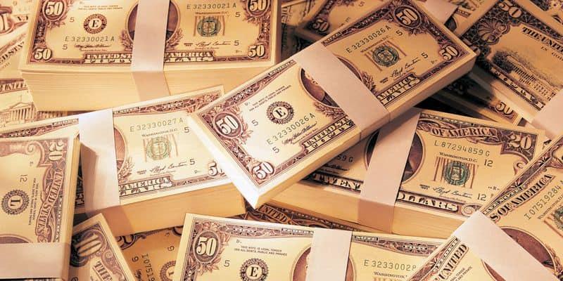 Купюры денег