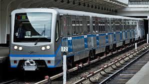 Едущий поезд